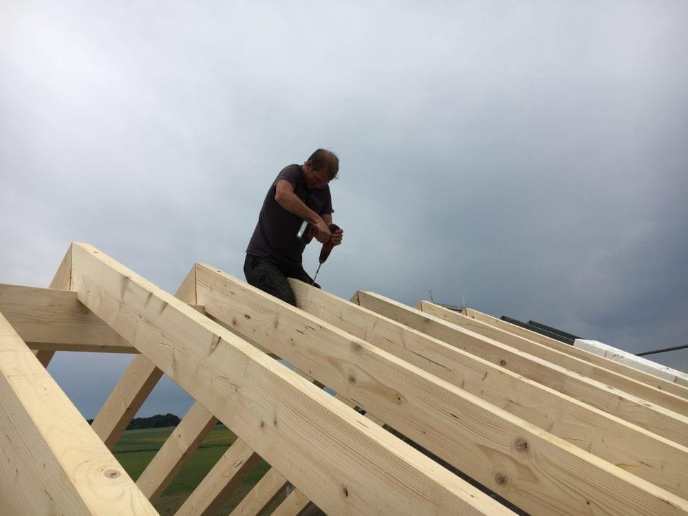 Neuer Dachstuhl