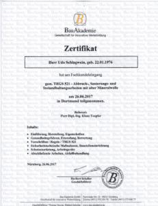 Zertifikat (2)